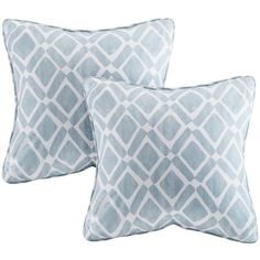 Decorative Pillows (840 MXN) ❤ liked on Polyvore featuring home, home decor, throw pillows, blue toss pillows, blue home decor, blue throw pillows and blue accent pillows