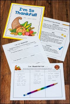 Freebie! Thankful Writing is a step-by-step writing lesson and a craftivity all in one. The final product is an essay that can be shared with student's families on Thanksgiving day, and it's sure to be a memorable keepsake!