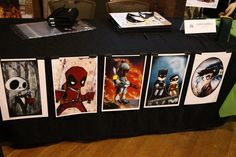 Booth display artwork