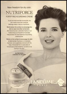 1990s glamour ad for Lancome Nutriforce -145