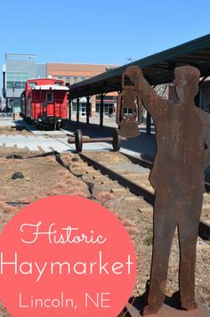 Historic Haymarket District in Lincoln, Nebraska