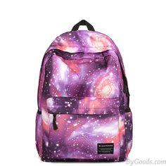 Casual Universe Blue Galaxy School Backpacks