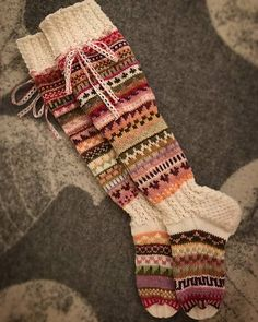 Ravelry: Sikermät pattern by Mia Sumell Easy Crochet Projects, Crochet Patterns For Beginners, Knitting Socks, Hand Knitting, Sock Leggings, Funky Socks, Clothes Crafts, Fingerless Gloves, Arm Warmers