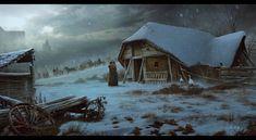 Сrusaders (practice), Vladimir Manyukhin on ArtStation at https://www.artstation.com/artwork/BP52D