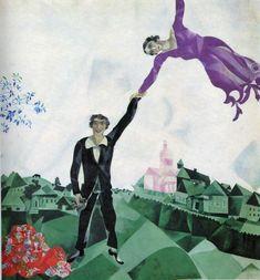 La Promenade ~ Chagall