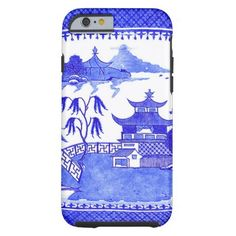 Blue Willow Chinoiserie iPhone 6 case