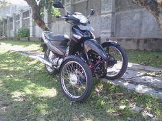 Reverse Trike, Honda SupraX125 by RWIN Development.