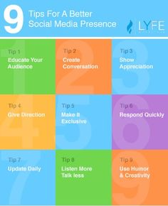 Using social media to grow your business? Here are 9 amazing tips to help you improve your social media presence.