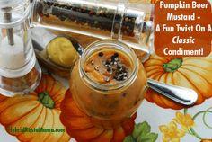 Pumpkin Beer Mustard - A Fun Twist On A Classic Condiment: HybridRastaMama.com