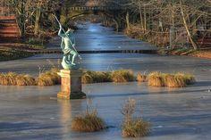 Statue of Neptune, Hardwick Hall Country Park, Sedgefield, Co. Durham