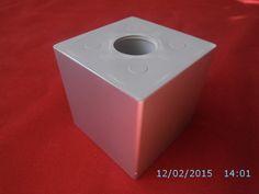 Stopka Meblowa 7.173 Chrom matowy, Aluminium H-60