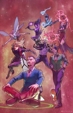 All New Defenders by Jamal Campbell *