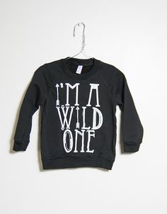 Wild One Sweater | Slyfox Threads | Kids Fashion