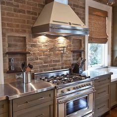 Brick Backsplash Des
