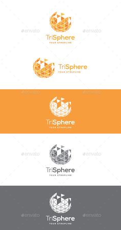 Tri Sphere  Logo Design Template Vector #logotype Download it here: http://graphicriver.net/item/tri-sphere-logo/10612269?s_rank=1281?ref=nexion