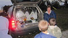 Our church sponsored a Trunk or Treat on  Wednesday night. It is a great way to let the kids collect some treats and introduce some solid bi...