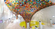 We Are Flowers installation
