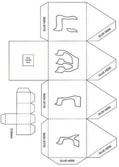 Akhlah: Paper Dreidel Decoration