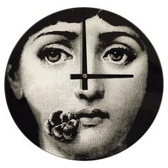 Fornasetti Stule Clock on Chairish.com