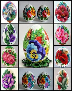 We think you might like these boards Bead Loom Patterns, Peyote Patterns, Beading Patterns, Egg Crafts, Easter Crafts, Diy And Crafts, Beaded Boxes, Egg Designs, Egg Art