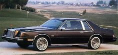 Chrysler Imperial (1981)  They looked best in dark colors.