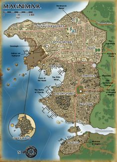 Great map as it shows districts Fantasy map Fantasy world map Fantasy city map