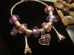 Paris Love Eiffel Tower and Heart European by TJsTreasureChest, $19.00