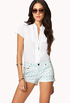 Essential Pleated Bib Top | FOREVER21 - 2048100101