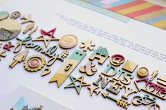 From Inked Hearts to Painted Wood Veneer :: Scrapbooking with guest Nancy Damiano - video in post
