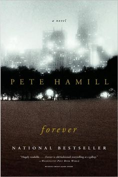 Forever, Pete Hamill - One of my ALL TIME FAVORITE BOOKS!!!