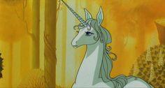 The Last Unicorn. Mandatory viewing for little peeps.