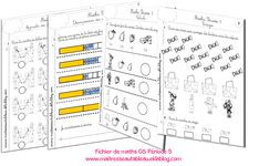Math Gs, Grande Section, Voici, Bullet Journal, Education, Blog, Names, Classroom Organization, Programming
