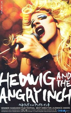 HEDWIG AND THE ANGRY INCH (by John Cameron Mitchell)