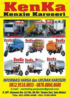 KAROSERI MOTOR RODA TIGA >> KAROSERI KENKA Sari, Trucks, Food Truck, Ideas, Saree, Truck, Mobile Food Cart, Track, Food Trucks