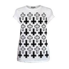Recoleta Cross Unisex Tshirt  #tshirt #summer #festival #festivalstyle #giftsforhim #giftideasformen #cross #cruz #monochrome #mensstyle #mensfashion