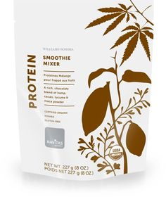Protein: Showcases four nutrient-rich foods: hemp, a great source of protein and omegas; cacao for feel-good antioxidants; lucuma, a natural sweetener; and maca, which nourishes the endocrine system. 8 oz Made in USA.  A Williams-Sonoma exclusive.