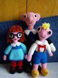 Háčkovaný Spejbl | Mimibazar.cz Teddy Bear, Create, Toys, Crochet, Animals, Knitting, People, Movie, Free Amigurumi Patterns