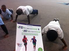 Pushup testing for my 5th Graders!