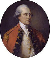 John Campbell, 5th Duke of Argyll (1723-1806) by Thomas Gainsborough.  Married 1759 to Elizabeth, Dowager Duchess of Hamilton.