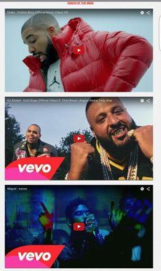 http://relentlesshustler.com/ Drake - Hotline Bling DJ Khaled - Gold Slugs Miguel - Waves