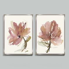 Big blushing florals with a fresh romantic look. Our Amour Art is blooming in sweeping watercolor brushstrokes of pink, plum, mauve and hints of mineral on a soft ivory background. Amour Framed Print features:Printed on deckled paper edgeFloated on white mat paperChampagne wood frameAvailable in multiple sizes to fit your space