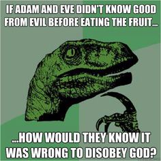 Good and evil fruit