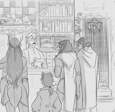 Critical Role Fan Art Gallery – A Tale of Victory and Paint Vox Machina, Critical Role Fan Art, D&d Dungeons And Dragons, D D Characters, Nerd Geek, Comic Strips, Character Inspiration, Victorious, Art Gallery