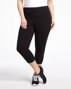 """run"" legging capri | Shop Online at Addition Elle"