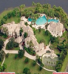 #Luxury Mansions in Florida #LuxurydotCom - Bigger Luxury Florida Mansion, Beach Mansion, Dream Mansion, Big Houses, Guest Houses, Fancy Houses, Dream Houses, Luxury Mansions, Mega Mansions