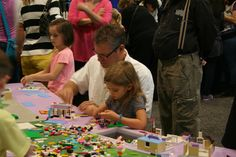 It's a family affair at LEGO Friends.