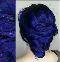 Beautiful indigo hair                                                                                                                                                                                 More