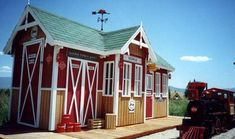 Extreme Kids Playhouses at WomansDay.com - Outside Playhouses for Kids - Woman's Day #kidsplayhouse #kidsoutdoorplayhouse