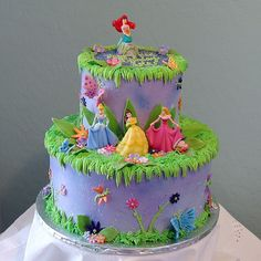 Disney princess cake.  This is what Malea picked out for her cake.  I have a lot of work ahead of me!