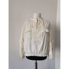 Ie panza brodata Ruffle Blouse, Boutique, Pattern, Tops, Women, Fashion, Moda, Women's, Fasion